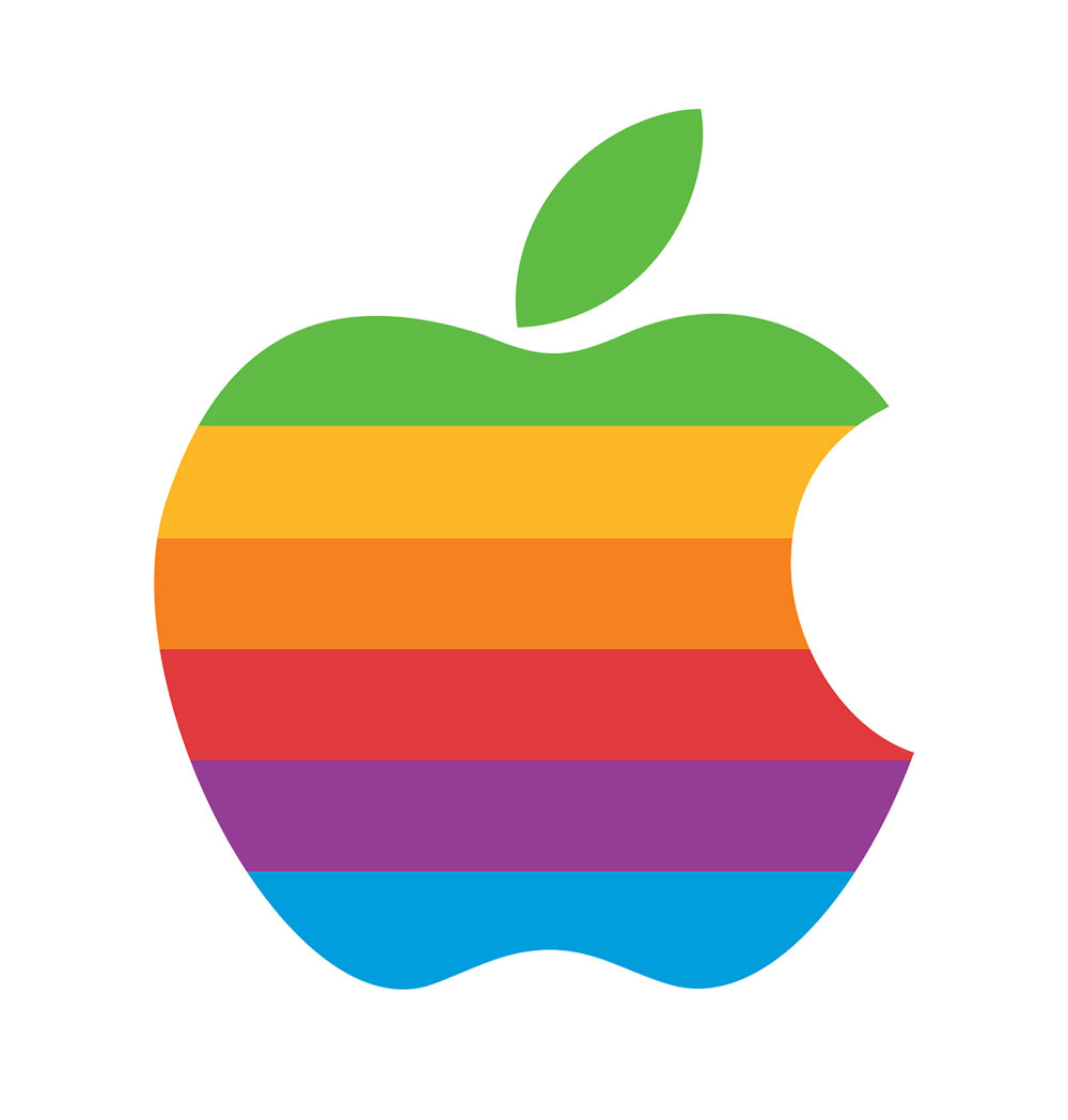 apple logo original