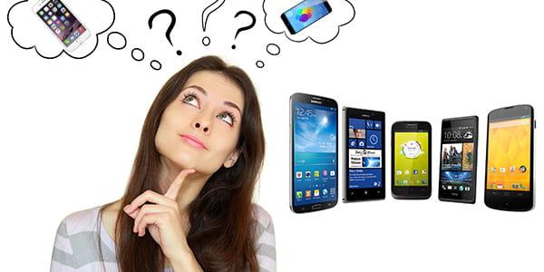 okostelefon választás